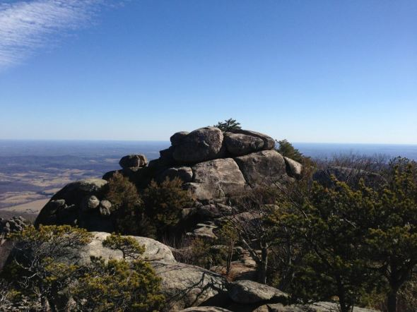 Rock Scramble on Old Rag