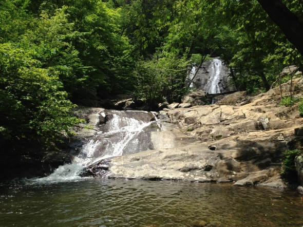 Lower White Oak Falls