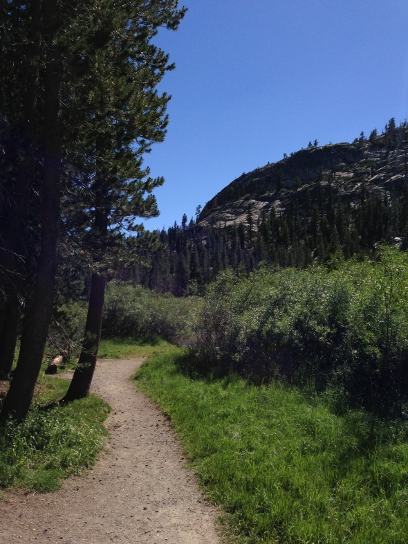 trail to the Postpile