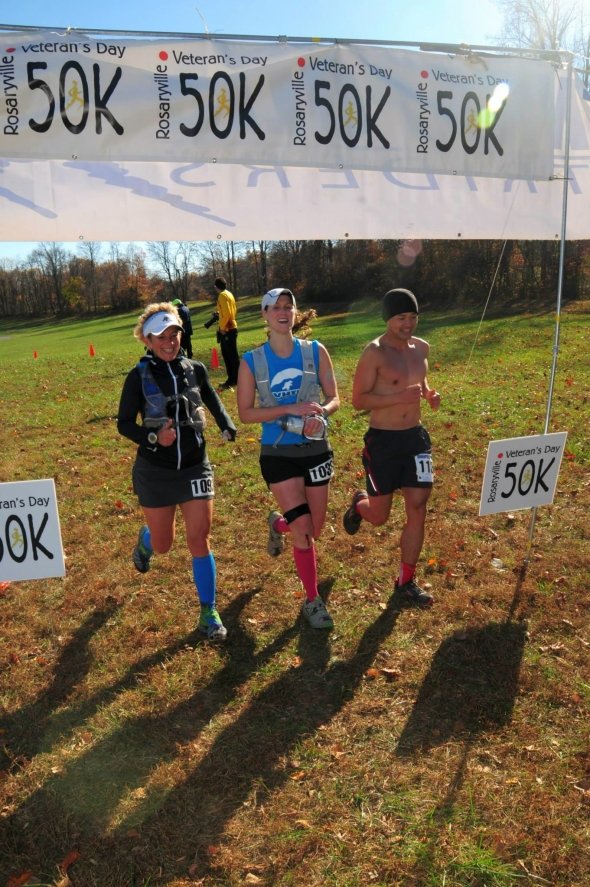 Finishing with triple PRs - Hai, Sara and myself. Thanks to Jon Valentine for this awesome picture!