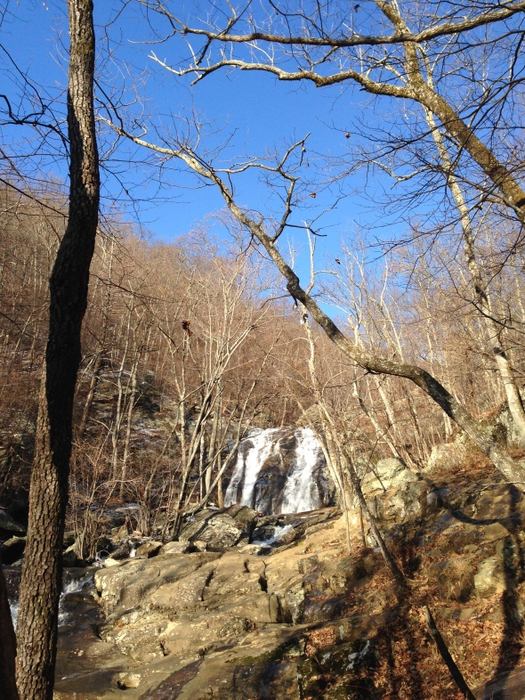Upper falls - White Oak Canyon