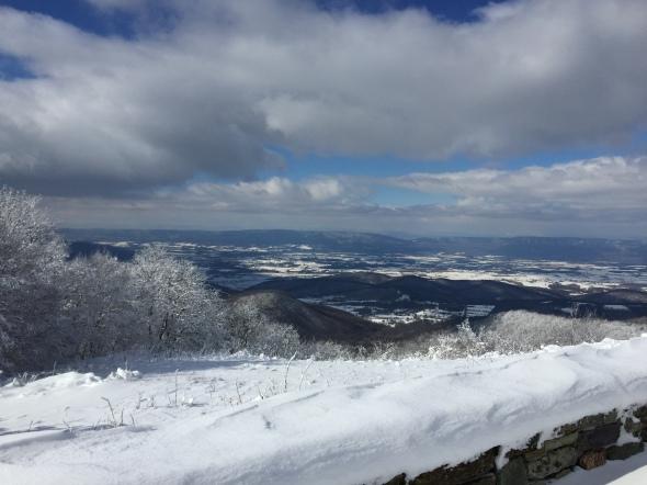 View near Hawksbill