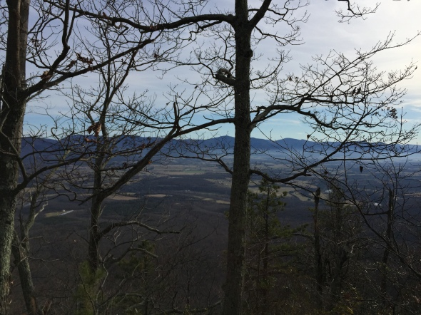 The view from Kennedy Peak.